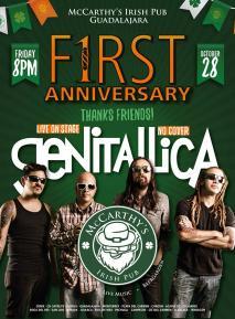 1er Aniversario McCarthy's Guadalajara