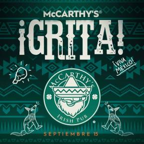 McCarthy's Grita Viva el Rock!