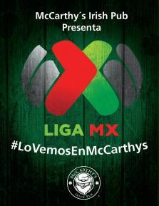 Liga Mx en Mccarthy's Irish Pub