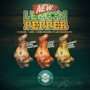 Lanzamiento Lemon Pepper Wings