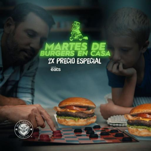 Martes de hamburguesas